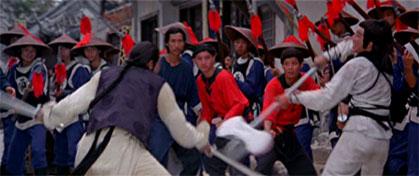 Opening fight scene